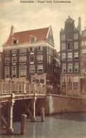 Singel Hoek Lijnbaansgracht - Amsterdam