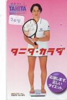 Télécarte Japon * Sport * TENNIS * (2081)   TANITA * PHONECARD JAPAN * TELEFONKARTE - Sport