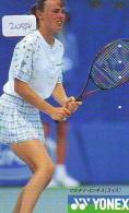 Télécarte Japon * Sport * TENNIS * (2084)  MONICA SELES * PHONECARD JAPAN * TELEFONKARTE - Sport