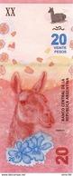Argentina P.new 20 Pesos 2017 Unc - Argentinië