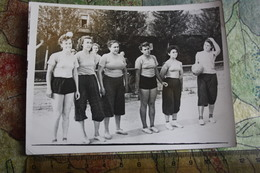 RUSSIA. USSR   Volleyball, Women Team. OLD USSR Oroginal Photo PC Size. 1960s - Very Rare! - Volleyball
