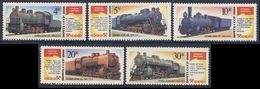 Soviet Unie CCCP Russia 1986 Mi 5649 /3 ** Steam Locomotive As Monuments / Dampflokomotiven Als Denkmäler - 1923-1991 USSR