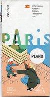 PLAN PARIS *Galeries Lafayette*Lido*Casino Barriere*Moulin Rouge*Grévin*Bateaux Mouches*Seine Cruise*Bhv Marais Etc - Europe