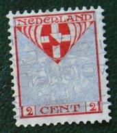 2 +2 Ct Kinderzegel Child Welfare Enfants Kinder NVPH 199 (Mi 192) 1926 Gestempeld / USED NEDERLAND / NIEDERLANDE - Period 1891-1948 (Wilhelmina)