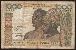 Togo, 1000 Francs, 1978 - West African States