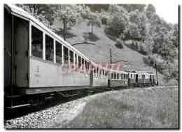 CPM Entre Chernex Et Sonzier 9.6.1938 Photo Kettel.Coll.M.Dehanne 102.3 MOB - Trains