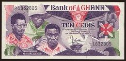 10 Cedis, 1984 - Ghana