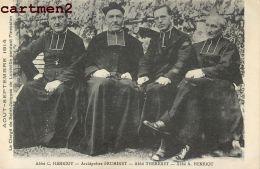 LUNEVILLE ABBE HENRIOT ARCHIPRETRE FRUMINET CLERGE DE SAINT-JAQUES GUERRE OCCUPATION RELIGION - Luneville