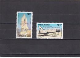Djibouti Nº A157 Al A158 - Yibuti (1977-...)