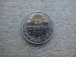 Liberia 25 Cents 2000 , UNC - Liberia