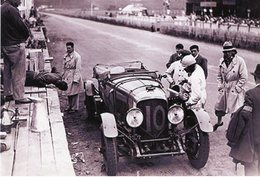 24 Heures Du Mans 1929 - Bentley 4.5 Litre Pitstop - Pilotes: Dudley Benjafield(GB)/André D'Erlanger(F)  -  15x10 PHOTO - Le Mans