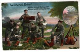 Nr.  3086,  Feldpost, - War 1914-18
