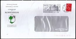 France Roeschwoog 2006 / Commune De Roppenheim / Coat Of Arms / Tree, Horseshoe / Sphinx / Machine Stamp / EMA - 1961-....