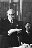 WW2 - Vincent Auriol En Angleterre En 1943 - 1939-45