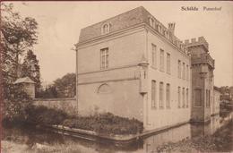 Schilde Puttenhof Chateau Kasteel ZELDZAAM RARE (In Zeer Goede Staat) - Schilde