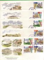 Lotto REGNO UNITO FDC.RINNOVAMENTO URBANO 1984. - Andere
