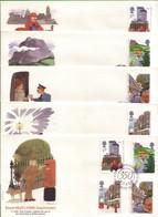 Lotto REGNO UNITO FDC.POSTE 1985. - Andere