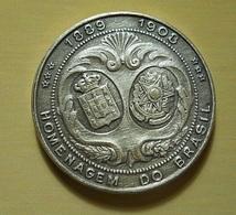 Silver Medal * Brazil * Homenagem Do Brasil * D. Manuel II Rei De Portugal 1889-1908 - Unclassified