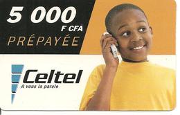CARTE-PREPAYEE-GSM-GABON-5000F CFA-ENFANT--TBE - Gabun