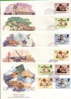 Lotto REGNO UNITO FDC.BRITISH COUNCIL1984. - Andere