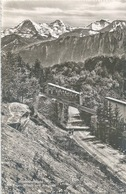 Beatenbergbahn - Mit Eiger, Mönch Und Jungfrau         Ca. 1940 - BE Berne