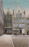 AK Ypres - Grande Place - Vieilles Maisons - Feldpost 1. Mob. Komp. 13. Inftr. Regt. 13. Inft. Div. - 1915 (35593) - Ieper