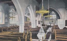 PORTISHEAD CHURCH INTERIOR - England