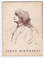 Programme Théâtre Sarah Bernhardt, Paris, 1963, La Dame Aux Camélias, D'A. Dumas Fils, Avec Edwige Feuillère - Théatre & Déguisements
