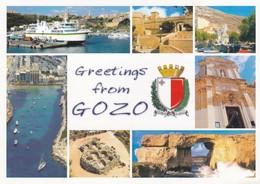 Postcard Greetings From Gozo Malta My Ref  B22689 - Greetings From...