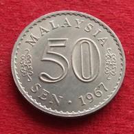 Malaysia 50 Sen 1967 KM# 5.1  *V1 Malasia Malaisie Malaysie - Malaysie