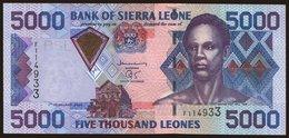 5000 Leones, 2002 - Ghana