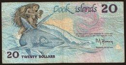 20 Dollars, 1987 - Cook Islands