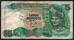 5 Ringgit, 1989 - Malaysia