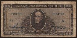 1000 Pesos, 1947 - Chile