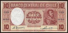 10 Pesos, 1947 - Chile