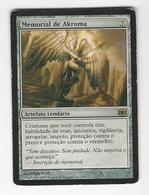 Magic The Gathering * Memorial De Akroma(Akroma's Memorial) * Visão Do Futuro/Future Sight * Portuguese * Very Used - Artefatti