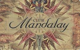 Mandalay Bay Resort & Casino - Las Vegas, NV -  BLANK Slot Card - Brown Tint, Address On One Line - Casino Cards