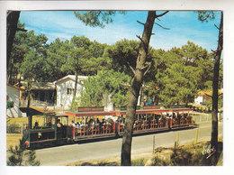 Ps- 33 - CAP FERRET - Le Petit Train Dans Son Parcours Du Bassin A L'ocean - Toillee - Timbre - Cachet - 1993- - Frankreich