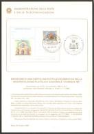 "Bollettino PP.TT. Blt19861030 Cartolina Postale ""Cosenza '86"" Fdc As Cosenza Af Roma - 6. 1946-.. Republic"