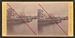 76 LE HAVRE -- Quai De L'Ile, Pont De La Citadelle _ Port Et Bateaux, Boat, Ship _ Argentique _ Photo Originale - Anciennes (Av. 1900)