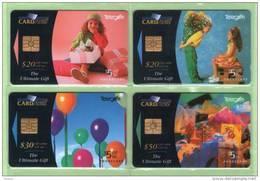 New Zealand - 1994 Ultimate Gift Card Set (4) - NZ-A-68/71 - Mint - Neuseeland