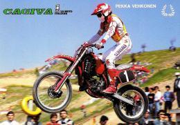 [MD1427] CPM - CAGIVA - PEKKA VEHKONEN - NV - Motociclismo
