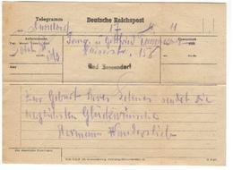 4356 - TELEGRAMME - Allemagne