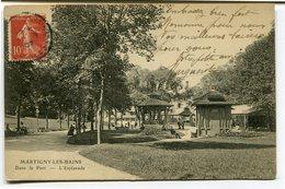 CPA - Carte Postale - France - Martigny Les Bains - Dans Le Parc - L'esplanade - 1907 ( CP3991 ) - France