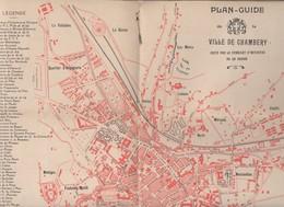 Chambéry (73 Savoie) Plan De La Ville Edité PAR LE SI (PPP8997) - Cartes Topographiques
