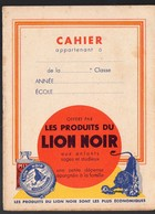 Petit Cahier D'écolier Offert Par LION NOIR (PPP8998) - Vloeipapier
