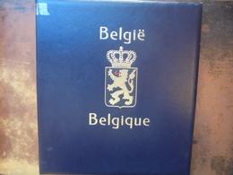 """BELGIQUE ENTRE 1950 Et 1965 ALBUM """"DAVO""""+BOITIER. A COMPLETER. (2178) 1 KILO 800 - Collections"""