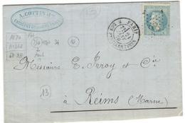 4377 - R. DES FEUILLANTINES - Marcophilie (Lettres)