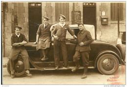 Voiture  CABRIOLET   PEUGEOT Avec  Soldats - Cars