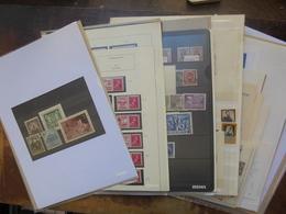 BELGIQUE BEAU LOT VARIER. NEUFS XX+X+OBLITERES+DOCUMENTS (2179) 750 Grammes - Collections